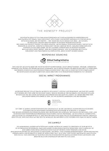 The Honesty Project - Nachhaltigkeit unserer Regatta und Dare2b Artikel