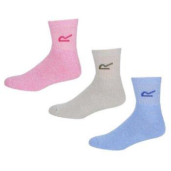 Regatta Womens 3 Pack Sock in a box