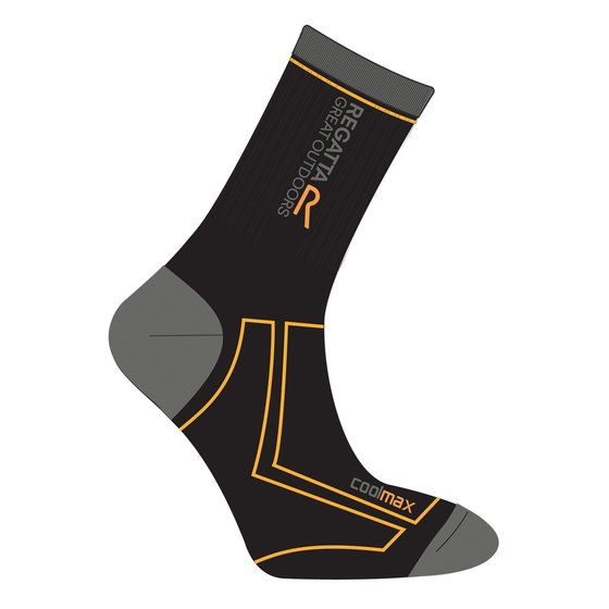 Regatta Mens 2 Season Coolmax Trek & Trail Sock