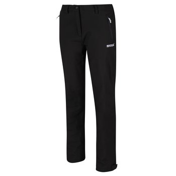 Regatta Geo Softshell Trousers II Wanderhose Damen Black 36