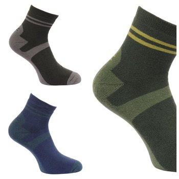 Regatta Mens 3 Pair Lifestyle Socken Funktionssocken 3...