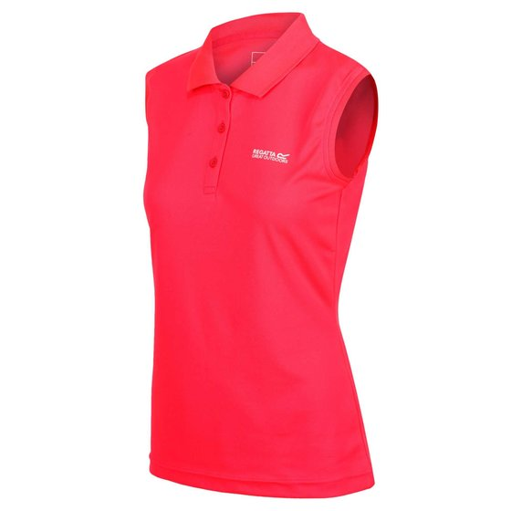 Regatta Tima Damen Funktions Polo Shirt Outdoorshirt ärmelos