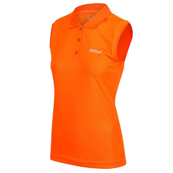 Regatta Tima Damen Funktions Polo Shirt Outdoorshirt ärmellos