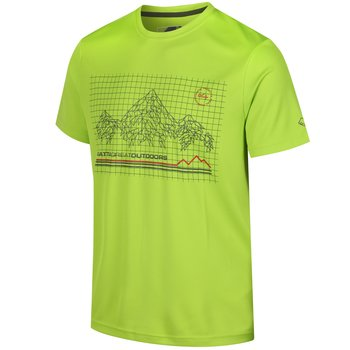 Regatta Outdoor Active Shirt Fingal III Lime Green 5XL