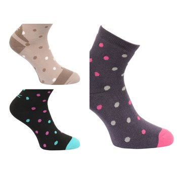 Regatta Womens 3er pack Lifestyle Socken jeweils 3 Farben...