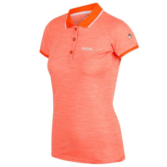 Regatta Remex II Funktions Polo Shirt Damen Wandershirt