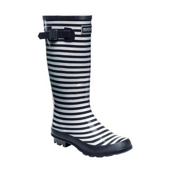 Regatta Ly Fairweather II Gummistiefel Damen Navy/White 41