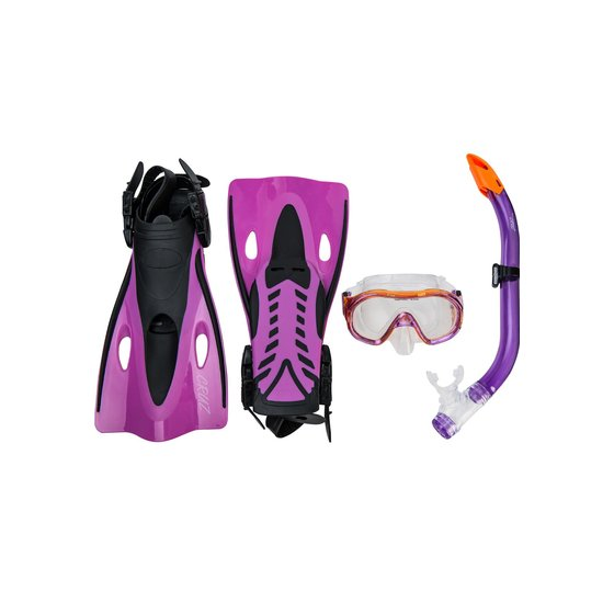 Cruz Cebu Jr. Diving Set Kinder - Taucherbrille, Schnorchel und Flossen