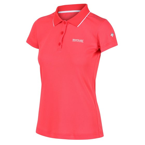 Regatta Womens Maverik V Poloshirt Damen Wanderpolo Outdoorshirt Trainingsshirt