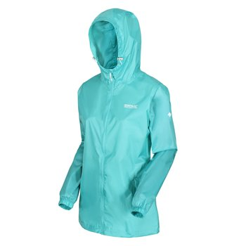 Regatta Pack It Jacket III wasserdichte Regenjacke Damen...