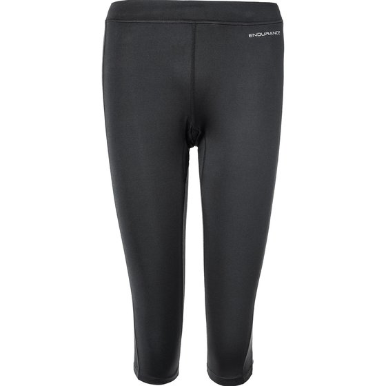 Endurance Zenta W 3/4 Run Tights Damen kurze Laufhose Runninghose