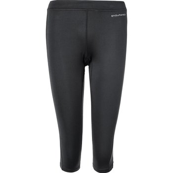 Endurance Zenta W 3/4 Run Tights Damen kurze Laufhose...